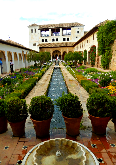 Different angle Generalife