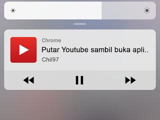 mutar youtube sambil buka aplikasi lain