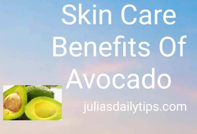 Avocado skin