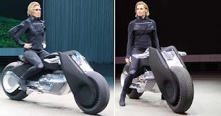 H BMW ετοιμάζει την μοτοσικλέτα του μέλλοντος που δεν χρειάζεται κράνος