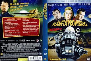 Carátula » Planeta prohibido » 1956 » Forbidden Planet