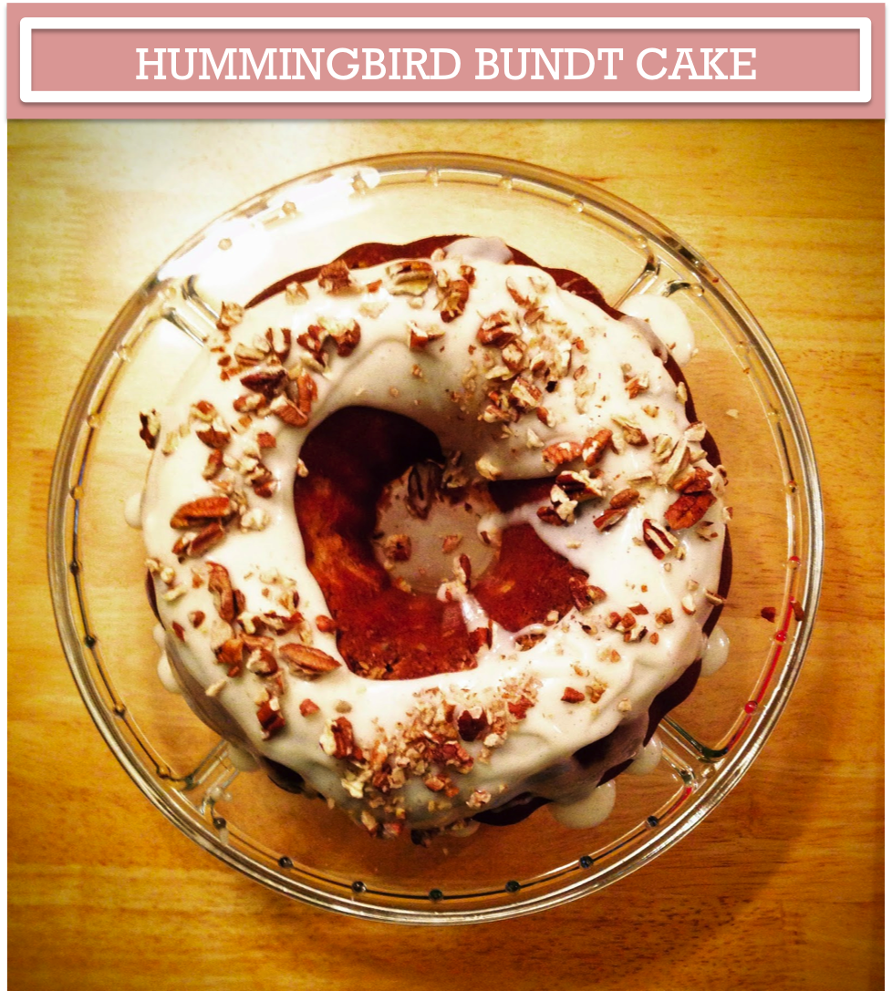 always aubrey hummingbird bundt cake