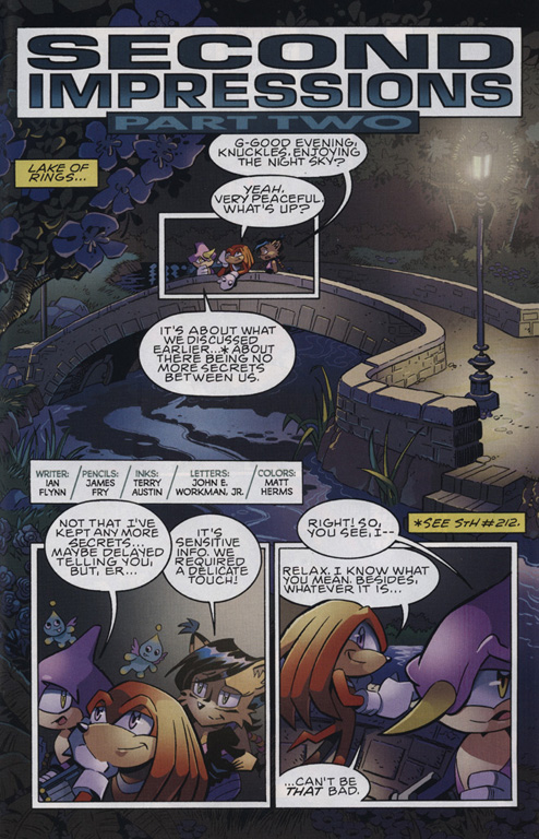 Read online Sonic The Hedgehog comic -  Issue #222 - 20