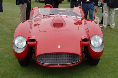 The First Unit Of The Ferrari Testarossa