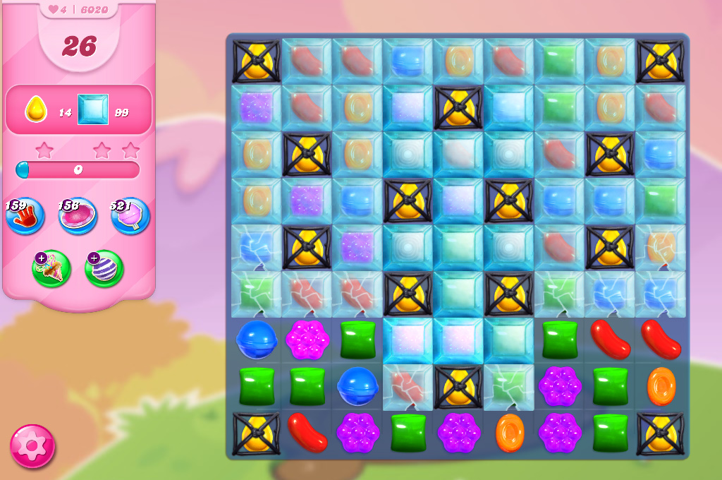 Candy Crush Saga level 6020