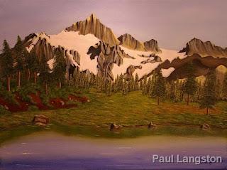 painting by artist Paul Langston