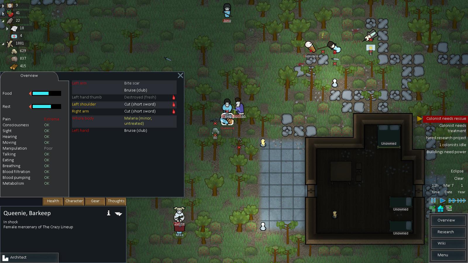 EMOTIONALLY14: Cloud Zombie's Rimworld Survival Tips