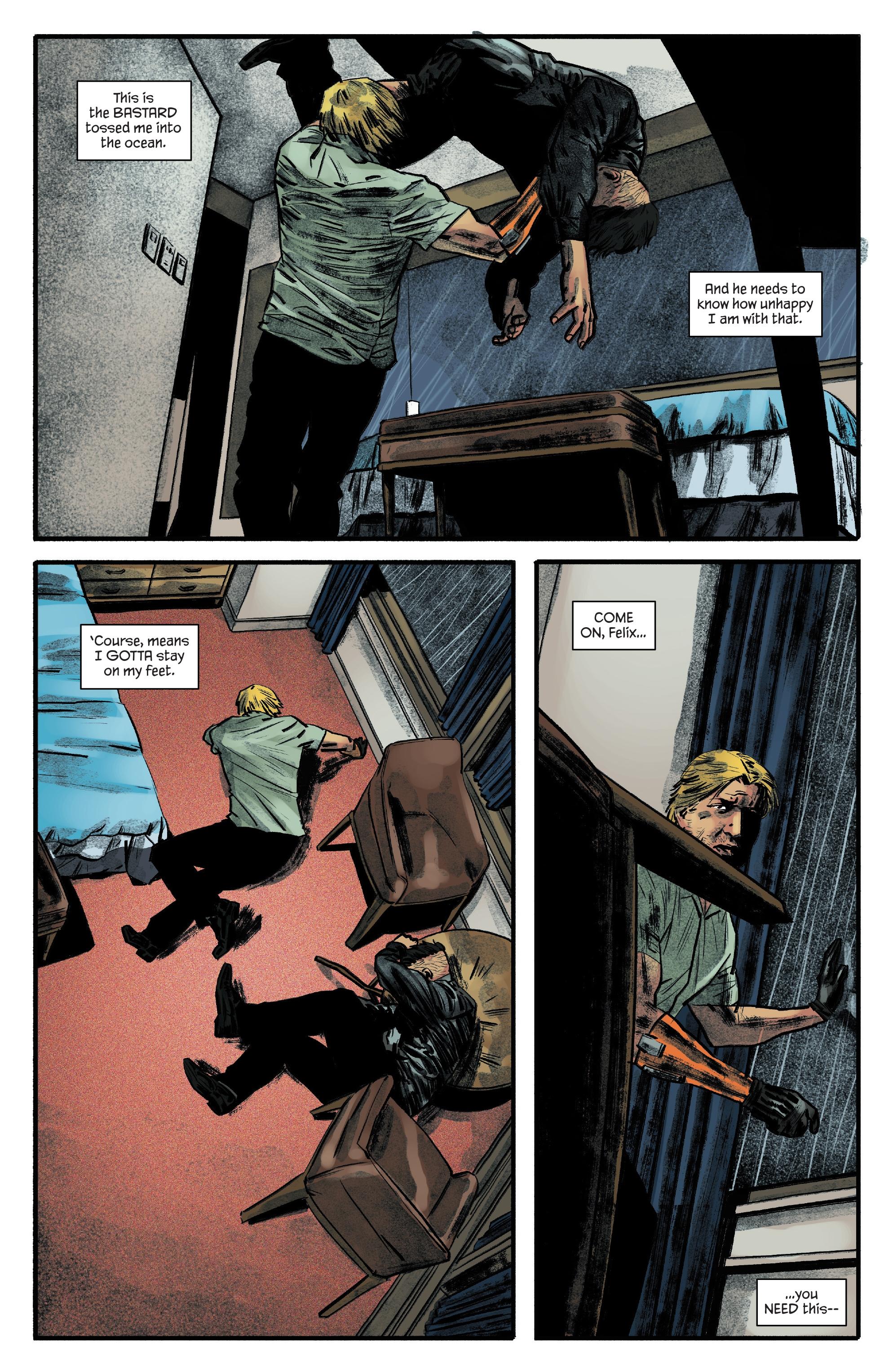 Read online James Bond: Felix Leiter comic -  Issue #6 - 13