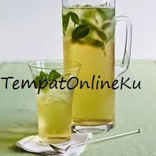 es teh hijau melon segar mantap