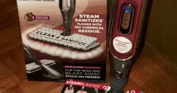 Stacy Tilton Reviews Shark 174 Genius Steam Pocket Mop System