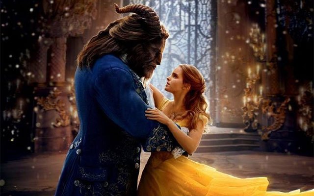 "Dan Stevens and Emma Watson in Disney's remake of ""Beauty and the Beast"""
