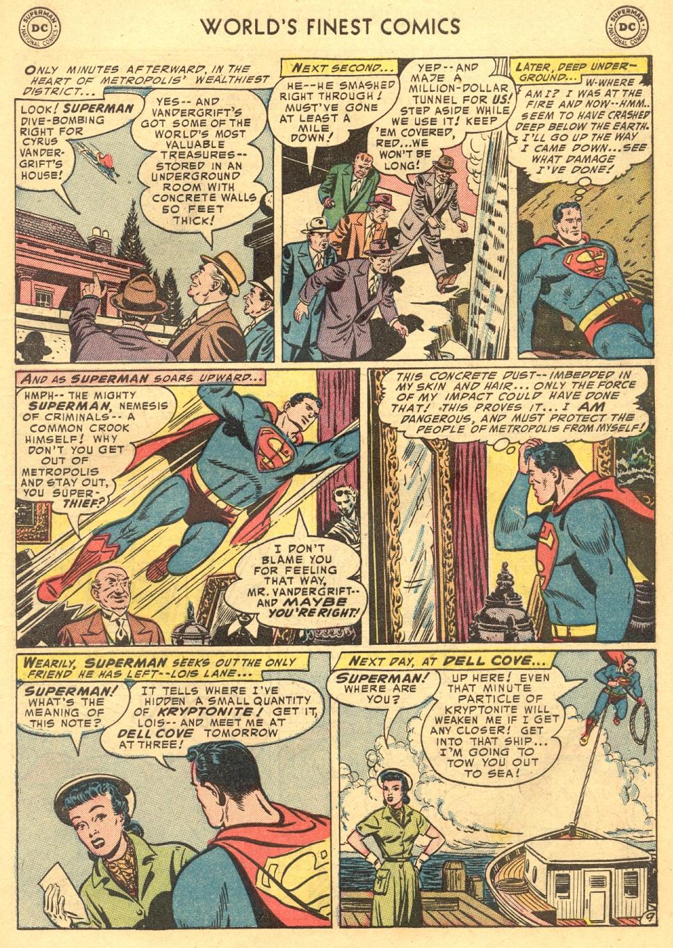 Read online World's Finest Comics comic -  Issue #70 - 11