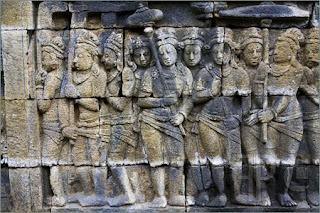 Relief Candi Borobudur 4