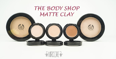 The Body Shop maquillaje Matte clay