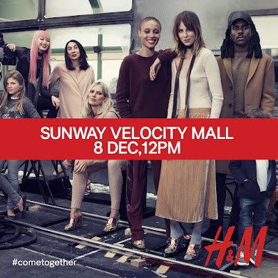 H&M Malaysia Free Shopping Voucher Tote Bags Opening Promo