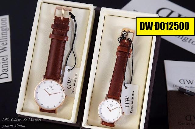 Đồng hồ dây da DW D012500