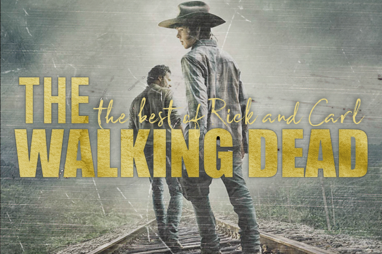 Rick and Carl Grimes Moments The Walking Dead