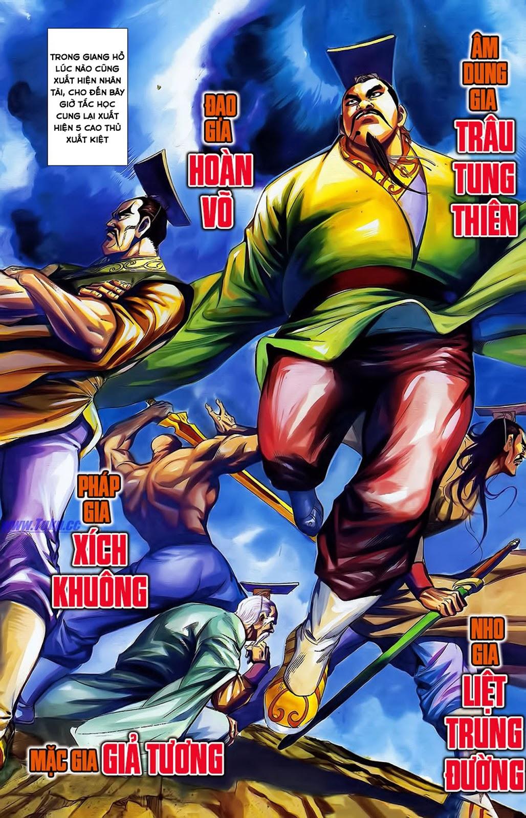 Tần Vương Doanh Chính chapter 15 trang 10
