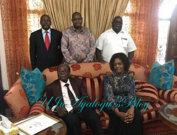 Finally! Robert Mugabe opens up on what his wife does since leaving office
