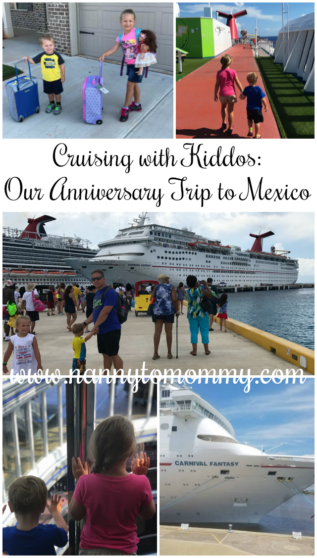 Cruising with Kiddos: Our Anniversary Trip to Mexico
