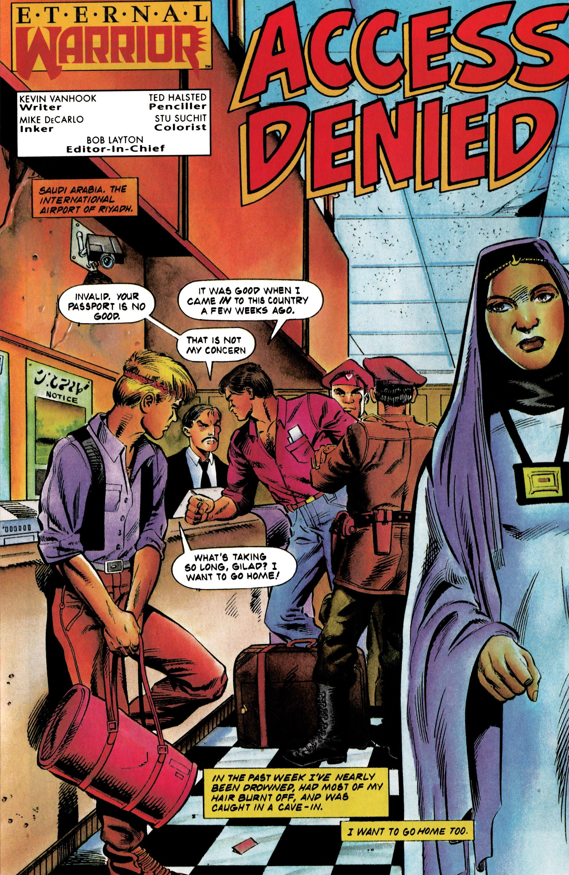 Read online Eternal Warrior (1992) comic -  Issue #20 - 5