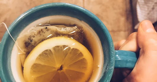 Cozy Winter Citrus Tea- Winding Down