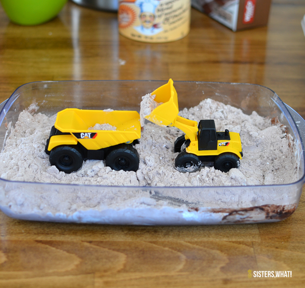 edible play dirt for toy trucks
