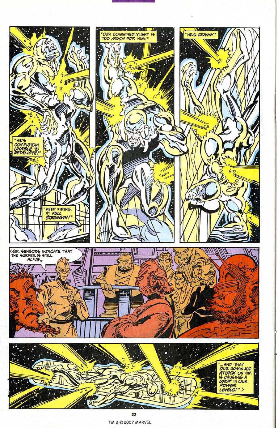 Silver Surfer (1987) Issue #103 #111 - English 24