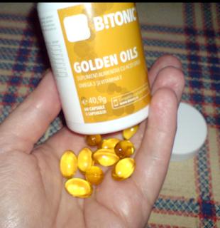 Capsule gelatinoase Golden Oils BTonic prezentare de produs -le puteti cumpara online de aici