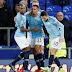 Manchester City vence o Everton por 2 a 0 e é o novo líder do Inglês