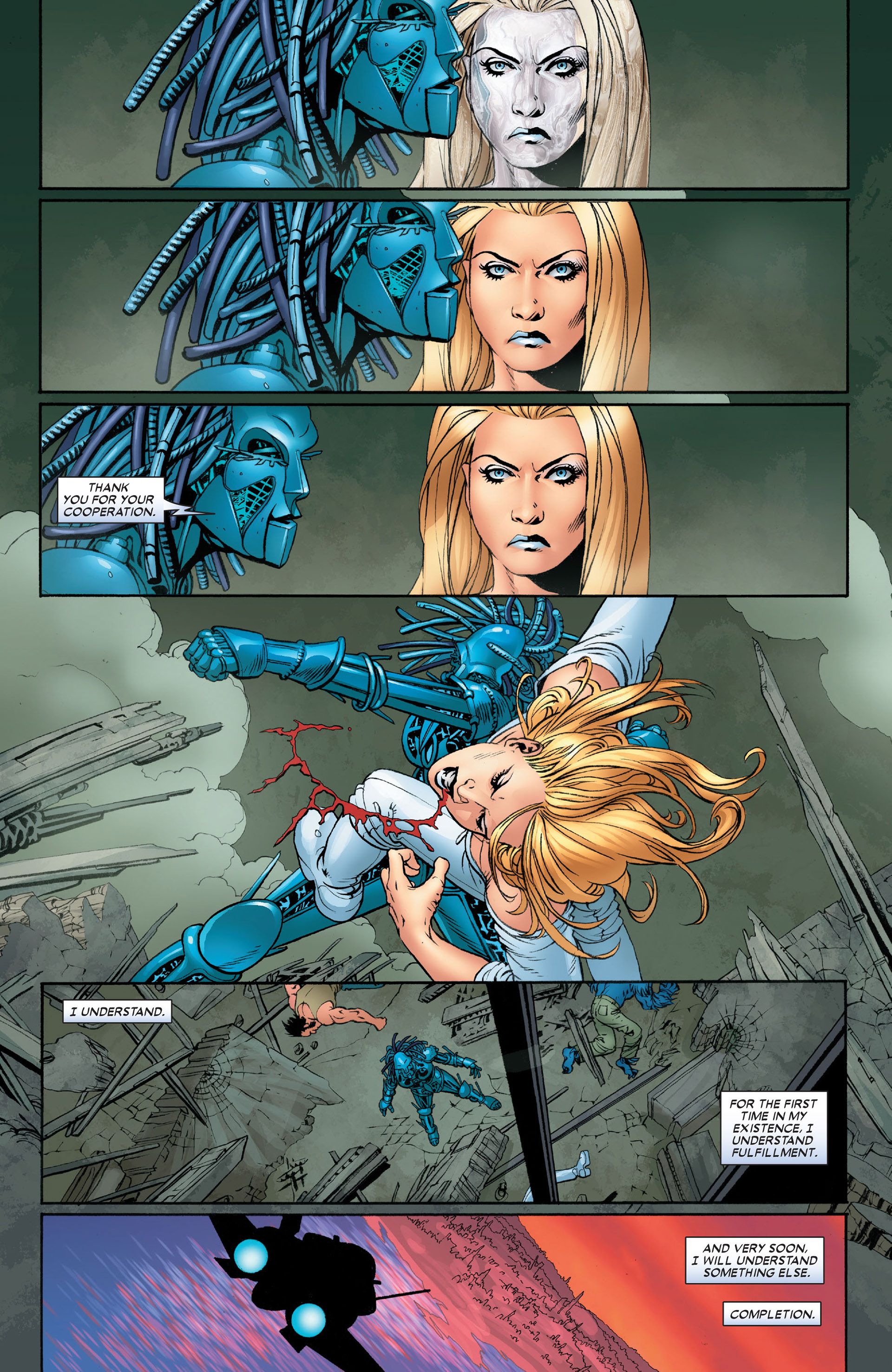 Read online Astonishing X-Men (2004) comic -  Issue #10 - 23