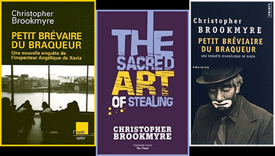 http://www.brookmyre.co.uk/books/the-sacred-art-of-stealing/