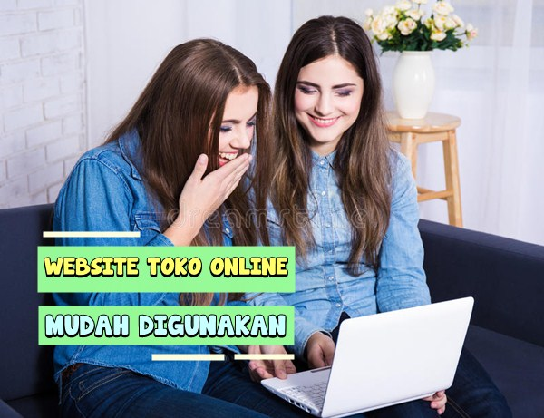 Website Toko Online Mudah Digunakan
