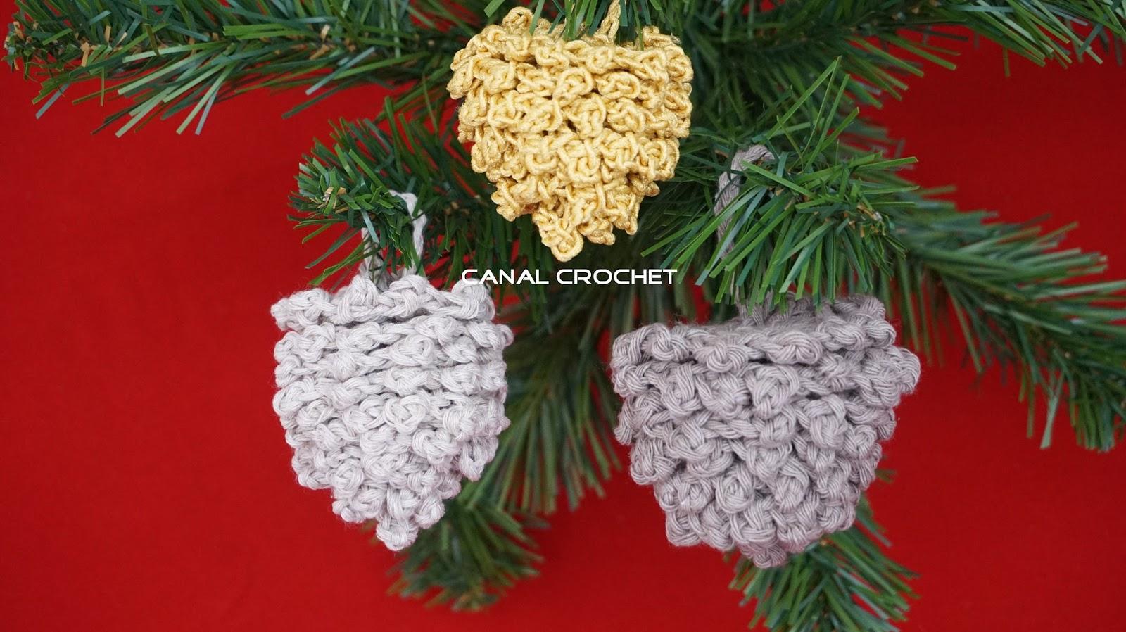 Amigurumilacion : Canal crochet: piña de navidad a crochet tutorial