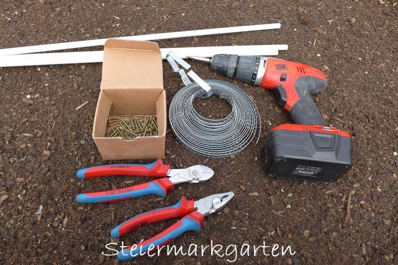 Werkzeuge-Hochbeet-Röhren-Steiermarkgarten