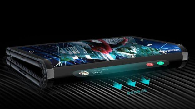 Telefon pintar boleh lipat dalam pasaran - Firma teknologi kecil atasi Samsung