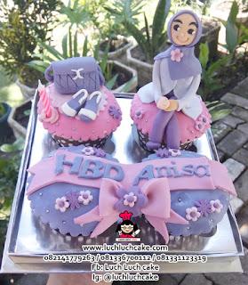 Cupcake Untuk Cewek Tema Fashion