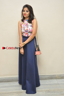 Kannada Actress Mahi Rajput Pos in Floral Printed Blouse at Premam Short Film Preview Press Meet  0022.jpg