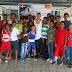 Boxeador profesional dominicano imparte clínica a boxeadores de Bonao