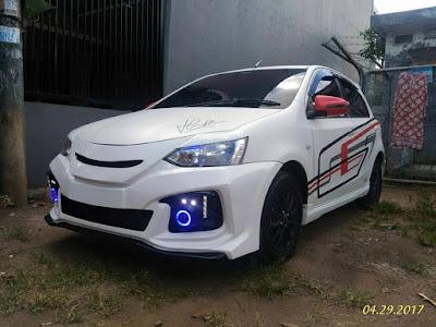 Modifikasi Bemper Toyota Etios