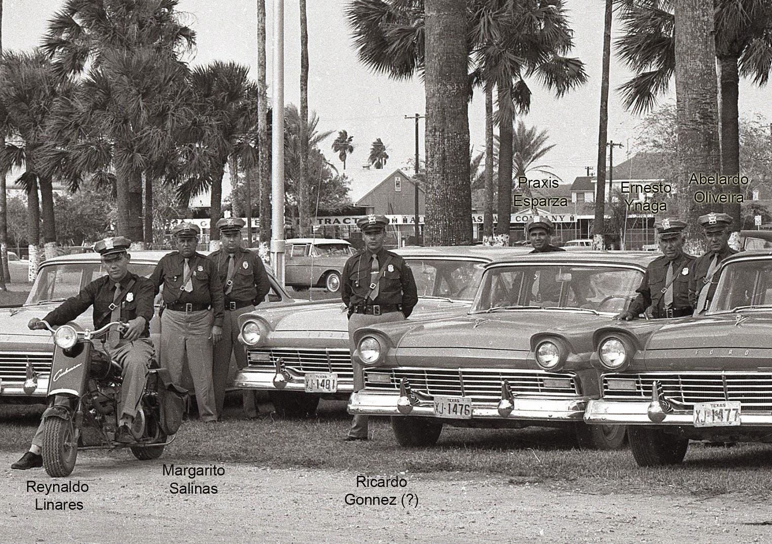 Used Cars Tyler Tx >> Brownsville Station: 1957 ~ Brownsville Police Department ...
