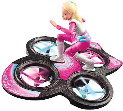 TOYS : JUGUETES - BARBIE Aventura en el espacio - Hoverboard RC Radiocontrol Star Light Adventure Producto Oficial Nueva Película 2016 Mattel DLV45 | A partir de 8 años Comprar en Amazon España & buy Amazon USA