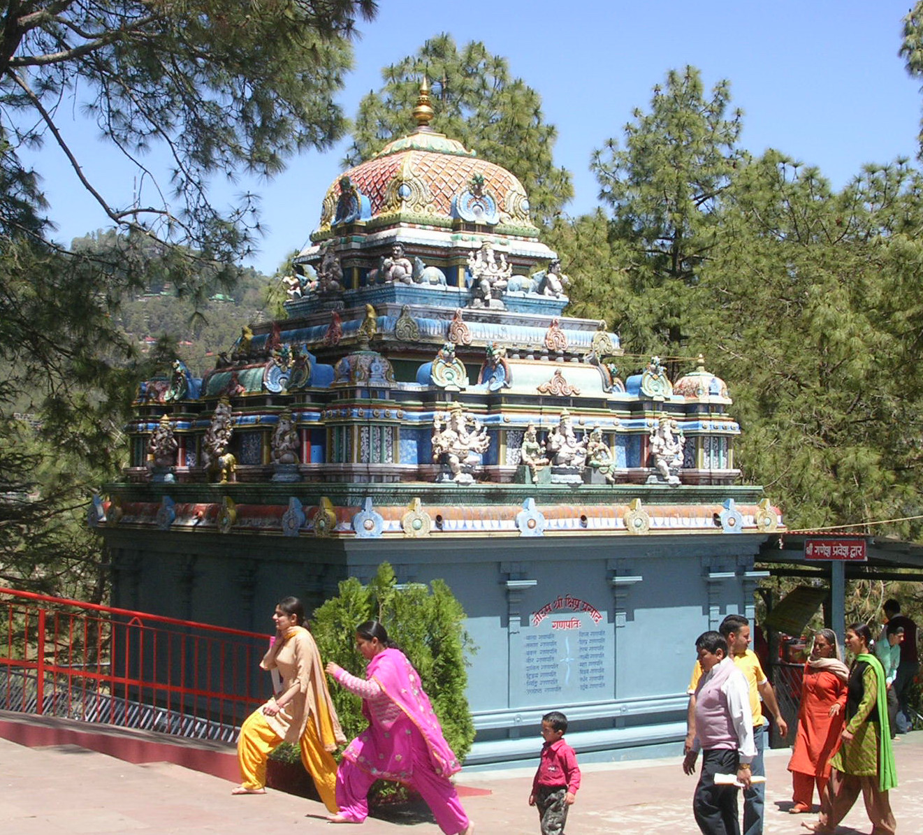 Hindu Temple in Shimla