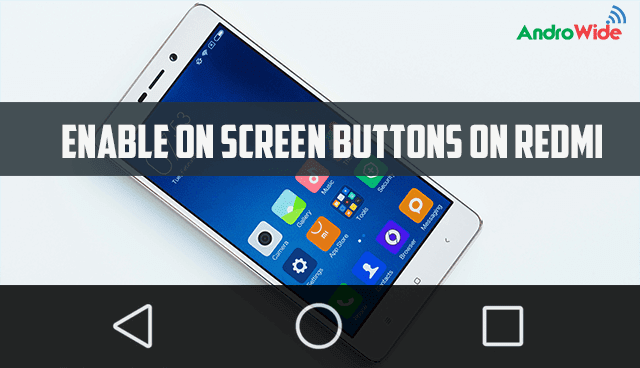 how to enable software keys on redmi