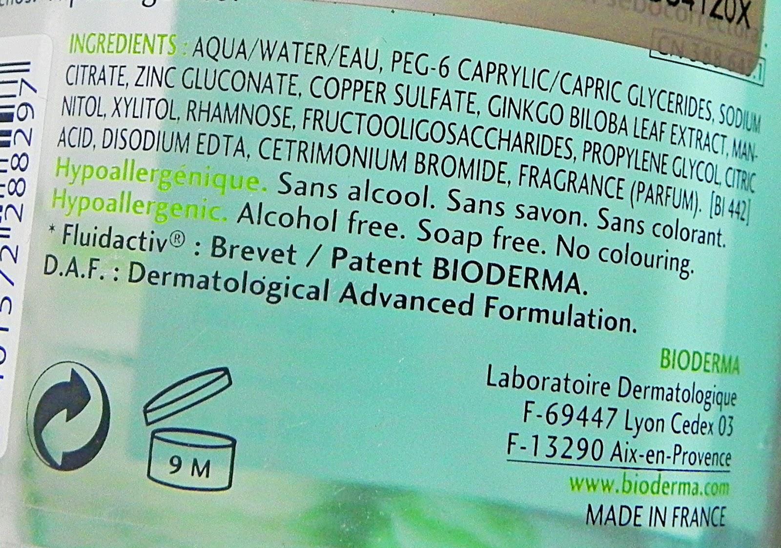 how to use bioderma sebium h2o