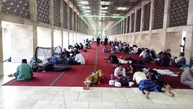 Peserta Reuni 212 Dapat Beristirahat di Masjid Ini, Berikut Daftarnya