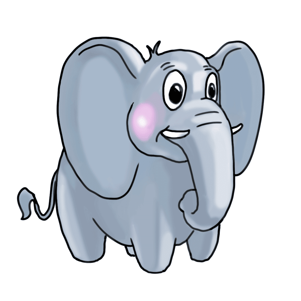Top Gambar Animasi Kartun Gajah Design Kartun
