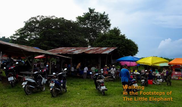Market in Pua, Nan - Thailand