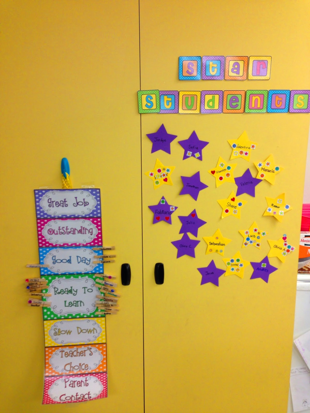 Kindergarten Smiles Behavior Management