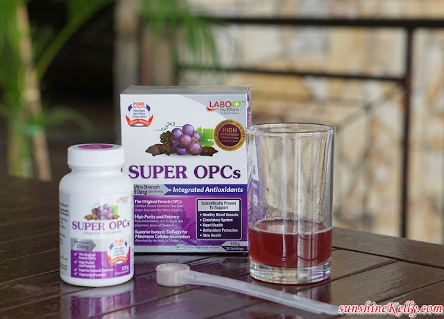 LABO SUPER OPCs Review, Brighter & Luminous Skin, best beauty drink review